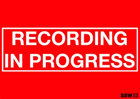 Rules To Better Video Recording