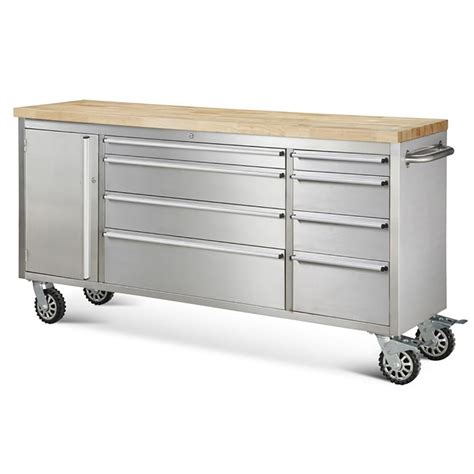Metal Tool Box Dresser by Hyxion Tool Chests 72 Quot 8 Drawer Rolling Metal Tool Chest