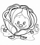 Coloring Cabbage Pages Colouring Sheets Adult Vegetables Fruit Printable Orange Stencils Preschool Printables Embroidery Templates Activities Education Books Hand Designs sketch template