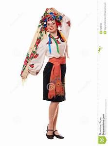 Kleidung Hochzeitsgast Frau : attraktive frau in der ukrainischen nationalen kleidung stockfoto bild 21258700 ~ Frokenaadalensverden.com Haus und Dekorationen