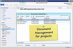 project management software in dynamics 365 and dynamics crm With document management system overview