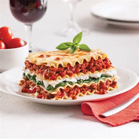 cuisine lasagne lasagne aux épinards et ricotta recettes cuisine et