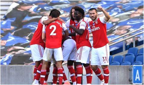 Brighton 2-1 Arsenal: Neal Maupay stoppage-time winner ...