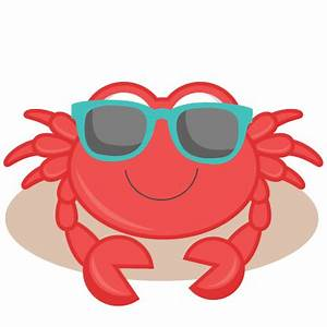 Beach Crab SVG cutting files for scrapbooking ocean svg ...