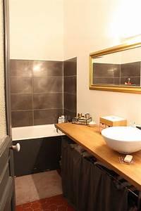 Une crédence pour la salle de bain Blueberry Home