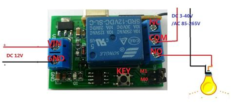 Relay Wireless Remote Control Switch Off