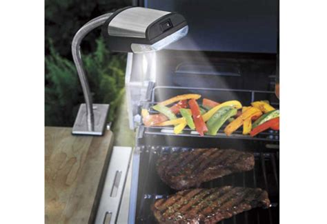 cordless outdoor grill light sharper image