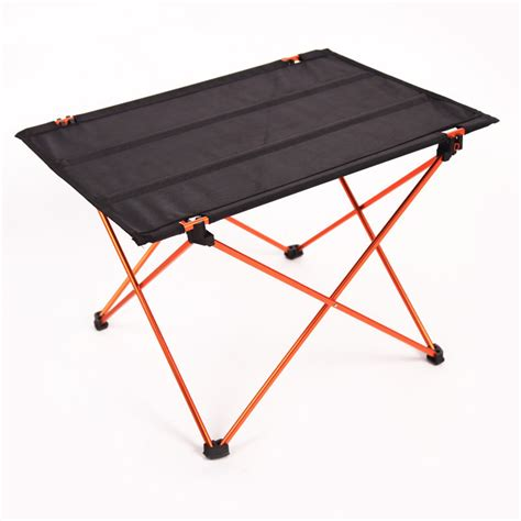 compact folding cing table lightweight table 4ft 1 2m lightweight aluminum portable