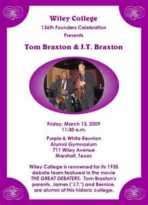Tom Braxton: Wiley College & Lubbock