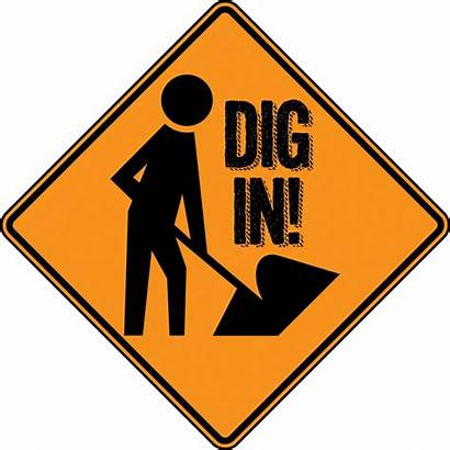 Construction Sign Party Birthday Signs Dig Zone