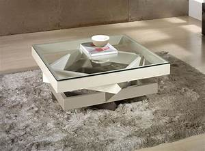 Glassez 3 for Cream coffee table set