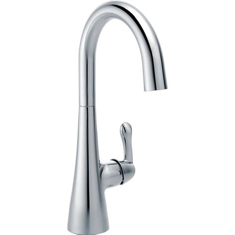 delta cassidy single handle bar faucet with pull sprayer in chrome 9997 dst the home depot