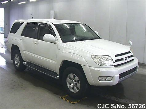 2004 toyota hilux surf 4runner pearl for sale stock no 56726 used cars exporter