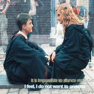 H/Hr* - Harry and Hermione Fan Art (7499670) - Fanpop