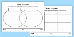 Shapes Grid And Venn Diagram Worksheets