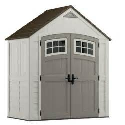 suncast storage sheds cascade blow molded resin storage