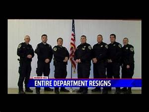 Entire Police Force Walks Off Job in Protest
