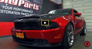 "Fully Customized 2010 Ford Mustang GT ""Red Shark"" 
