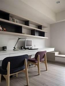Bureau Contemporain Design : le mobilier de bureau contemporain 59 photos inspirantes ~ Teatrodelosmanantiales.com Idées de Décoration
