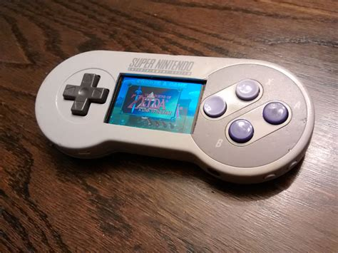 Handheld Pi In A Super Nintendo Controller Retropie