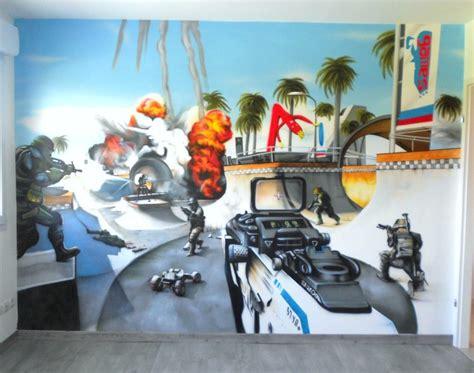 peinture chambre ado gar輟n deco chambre ado graffiti gawwal com