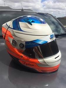 custom painted arai sk5 kart helmet speedcafe classifieds