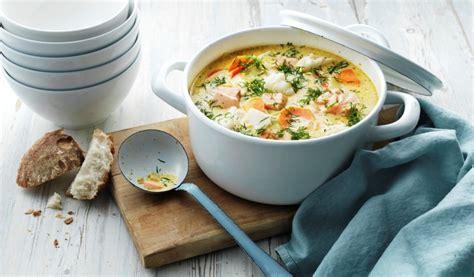 Receptes.lv - Krēmīgā zivju zupa