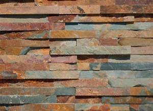 Parement Pierre Extérieure : parement mural pierre naturelle ardoise multicolore plaquette 15x60 cm p 1 3 cm les ~ Melissatoandfro.com Idées de Décoration