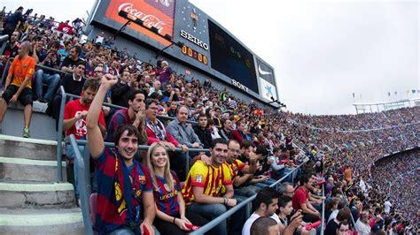 timelapse   camp nou  fc barcelona  real