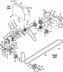 The Mower Shop  Inc 329b 2015 Drive Assembly