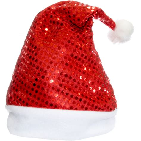 red sequin santa hat 22122rdao craftoutlet com
