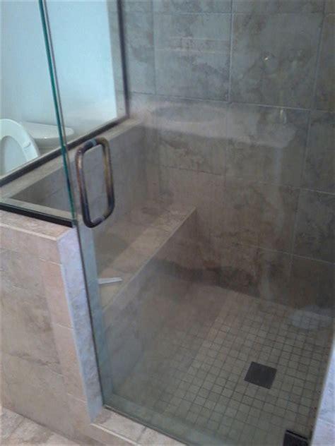 shower pan tile installation flickr photo