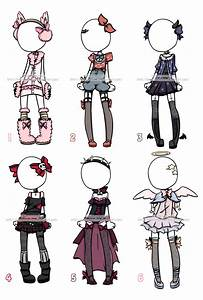 Outfit Adoptables#1 CLOSED by KimmyPeaches.deviantart.com on @DeviantArt | clothes ideas ...