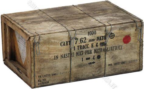 Cassette Militari by Cassa Di Legno Con 4 Cassette Portamunizioni