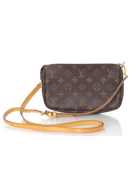 louis vuitton monogram pochette crossbody bag  sale  stdibs