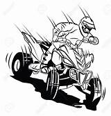 Drawing Atv Wheelers Four 1267 Cliparts Vectors Illustrations Getdrawings sketch template
