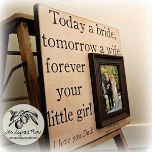 father of the bride custom wedding gift from With wedding gifts for dad