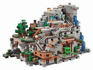 LEGO Minecraft Experience The Mountain Cave The Geekiary