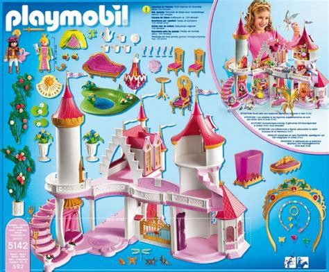 playmobil chambre princesse playmobil princess castle 5142 table mountain toys
