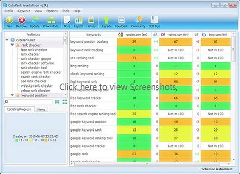 Keyword Ranking - 35 best position checker tools psdreview