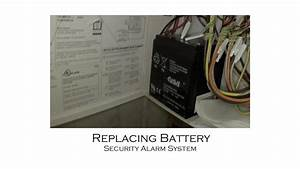 Low Battery In Alarm System And Battery Replacement    Dsc