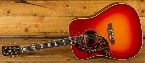 Gibson 2018 Hummingbird Vintage Cherry Sunburst Left