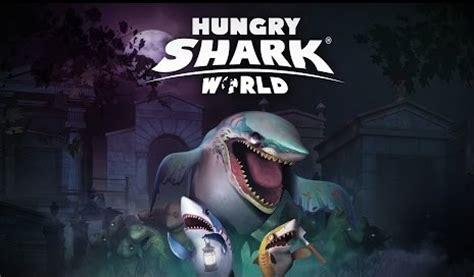 hungry shark world mod apk 2 6 0 unlimited gems sharks unlocked andropalace