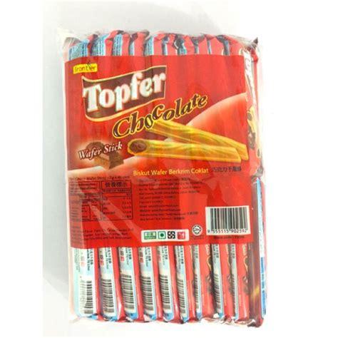 (Topfer) Chocolate Wafer Stick | Shopee Malaysia