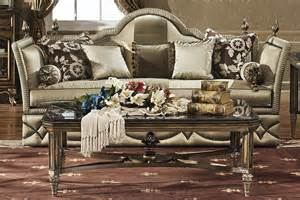Marge Carson Sofa Table by Glamorous And Roaring The Great Gatsby Inspired Decor