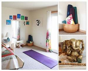 Image Gallery home yoga space