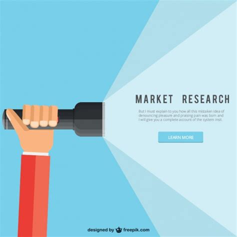 Market Research Sles by Market Research Vector Free