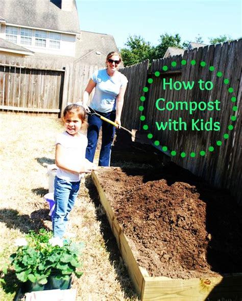 kids   compost kitchen scraps