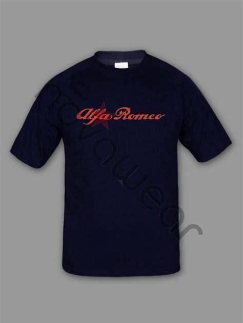 alfa romeo  shirt black alfa romeo accessories alfa