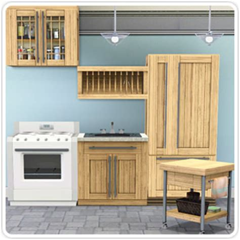 geneva kitchen cabinets overachieving overhead glass cabinet the sims 3 1204